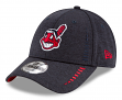 """Cleveland Indians New Era 9Forty MLB """"Shadow Speed"""" Performance Adjustable Hat"""