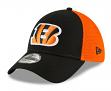 "Cincinnati Bengals New Era NFL 39THIRTY ""2T Sided"" Flex Fit Meshback Hat"