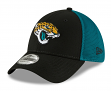 "Jacksonville Jaguars New Era NFL 39THIRTY ""2T Sided"" Flex Fit Meshback Hat"