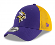 "Minnesota Vikings New Era NFL 39THIRTY ""2T Sided"" Flex Fit Meshback Hat"