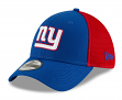 "New York Giants New Era NFL 39THIRTY ""2T Sided"" Flex Fit Meshback Hat"