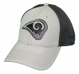 """Los Angeles Rams New Era NFL 39THIRTY """"2T Sided"""" Flex Fit Meshback Hat - Gray"""
