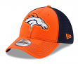 "Denver Broncos New Era NFL 39THIRTY ""Fan Mesh"" Flex Fit Meshback Hat"