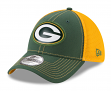 "Green Bay Packers New Era NFL 39THIRTY ""Fan Mesh"" Flex Fit Meshback Hat"