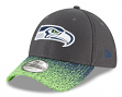 "Seattle Seahawks New Era NFL 39THIRTY ""Visor Blur 2"" Flex Fit Meshback Hat"