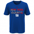 "New York Giants Youth NFL ""Flux"" Dual Blend Short Sleeve T-Shirt"