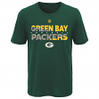 "Green Bay Packers Youth NFL ""Flux"" Dual Blend Short Sleeve T-Shirt"