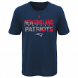 "New England Patriots Youth NFL ""Flux"" Dual Blend Short Sleeve T-Shirt"