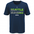 "Seattle Seahawks Youth NFL ""Flux"" Dual Blend Short Sleeve T-Shirt"