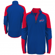 "Buffalo Bills Youth NFL ""Beta"" Performance 1/4 Zip Long Sleeve Shirt"