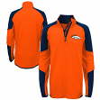 "Denver Broncos Youth NFL ""Beta"" Performance 1/4 Zip Long Sleeve Shirt"