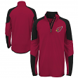 "Arizona Cardinals Youth NFL ""Beta"" Performance 1/4 Zip Long Sleeve Shirt"
