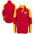 "Kansas City Chiefs Youth NFL ""Beta"" Performance 1/4 Zip Long Sleeve Shirt"