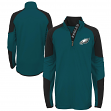 "Philadelphia Eagles Youth NFL ""Beta"" Performance 1/4 Zip Long Sleeve Shirt"