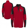 "Atlanta Falcons Youth NFL ""Beta"" Performance 1/4 Zip Long Sleeve Shirt"