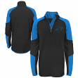 "Carolina Panthers Youth NFL ""Beta"" Performance 1/4 Zip Long Sleeve Shirt"