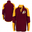 "Washington Redskins Youth NFL ""Beta"" Performance 1/4 Zip Long Sleeve Shirt"