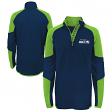 "Seattle Seahawks Youth NFL ""Beta"" Performance 1/4 Zip Long Sleeve Shirt"