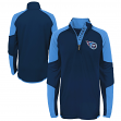 "Tennessee Titans Youth NFL ""Beta"" Performance 1/4 Zip Long Sleeve Shirt"
