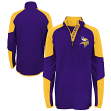 "Minnesota Vikings Youth NFL ""Beta"" Performance 1/4 Zip Long Sleeve Shirt"