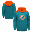"Miami Dolphins Youth NFL ""Off the Grid"" Pullover Hooded Sweatshirt"