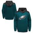 """Philadelphia Eagles Youth NFL """"Off the Grid"""" Pullover Hooded Sweatshirt"""