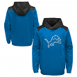 "Detroit Lions Youth NFL ""Off the Grid"" Pullover Hooded Sweatshirt"