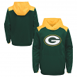 """Green Bay Packers Youth NFL """"Off the Grid"""" Pullover Hooded Sweatshirt"""