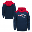 """New England Patriots Youth NFL """"Off the Grid"""" Pullover Hooded Sweatshirt"""