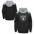 "Oakland Raiders Youth NFL ""Off the Grid"" Pullover Hooded Sweatshirt"