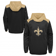 "New Orleans Saints Youth NFL ""Off the Grid"" Pullover Hooded Sweatshirt"