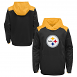 "Pittsburgh Steelers Youth NFL ""Off the Grid"" Pullover Hooded Sweatshirt"
