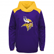 "Minnesota Vikings Youth NFL ""Off the Grid"" Pullover Hooded Sweatshirt"