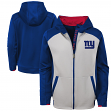 "New York Giants Youth NFL ""Hi-Tech"" Performance Full-Zip Hooded Sweatshirt"