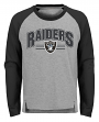 "Oakland Raiders Youth NFL ""Audible"" Fashion Long Sleeve T-Shirt"