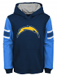 "Los Angeles Chargers Youth NFL ""Man in Motion"" Pullover Hooded Sweatshirt"