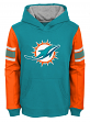 "Miami Dolphins Youth NFL ""Man in Motion"" Pullover Hooded Sweatshirt"