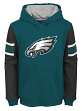 "Philadelphia Eagles Youth NFL ""Man in Motion"" Pullover Hooded Sweatshirt"