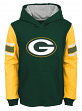 """Green Bay Packers Youth NFL """"Man in Motion"""" Pullover Hooded Sweatshirt"""