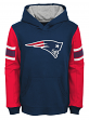 "New England Patriots Youth NFL ""Man in Motion"" Pullover Hooded Sweatshirt"