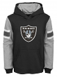 """Oakland Raiders Youth NFL """"Man in Motion"""" Pullover Hooded Sweatshirt"""