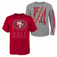 "San Francisco 49ers Youth NFL ""Playmaker"" 3 in 1 T-Shirt Combo Set"