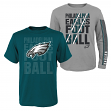 "Philadelphia Eagles Youth NFL ""Playmaker"" 3 in 1 T-Shirt Combo Set"