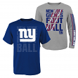 "New York Giants Youth NFL ""Playmaker"" 3 in 1 T-Shirt Combo Set"