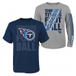 "Tennessee Titans Youth NFL ""Playmaker"" 3 in 1 T-Shirt Combo Set"