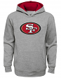 """San Francisco 49ers Youth NFL """"Prime Time"""" Pullover Hooded Sweatshirt - Gray"""
