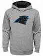 """Carolina Panthers Youth NFL """"Prime Time"""" Pullover Hooded Sweatshirt - Gray"""