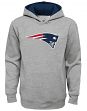 "New England Patriots Youth NFL ""Prime Time"" Pullover Hooded Sweatshirt - Gray"