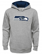 """Seattle Seahawks Youth NFL """"Prime Time"""" Pullover Hooded Sweatshirt - Gray"""