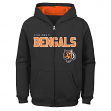 "Cincinnati Bengals Youth NFL ""Game Stated"" Full Zip Hooded Sweatshirt"